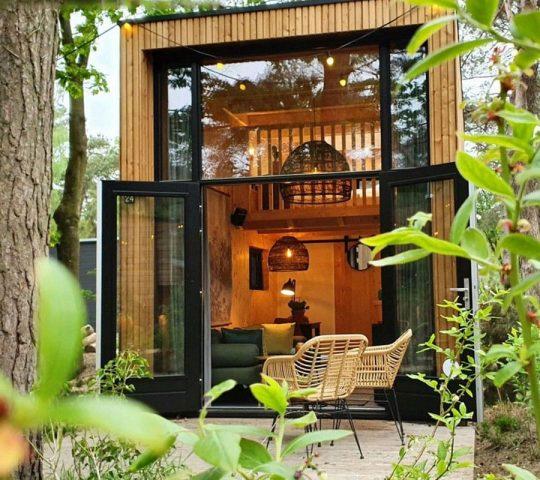 Tiny House bij Droompark de Zanding