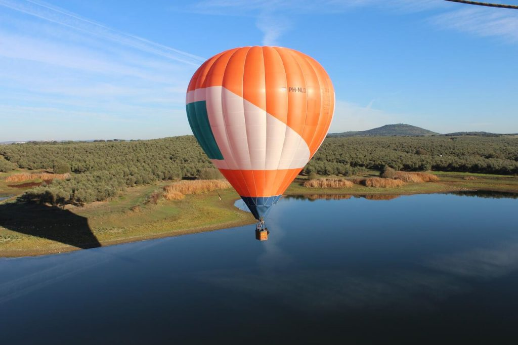 Ballonvaart in de Alentejo Portugal